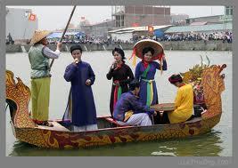 Le hoi Lim - Tien Du Nam 2012 Phan 2 Quan ho truyen thong tren thuyen