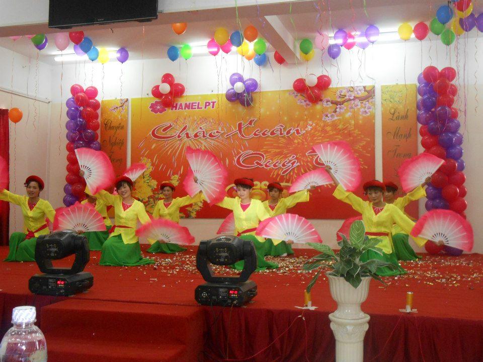 Le tat nien cuoi nam cong ty Hanel PT tai KCN Tien Son - Tien Du - Bac Ninh
