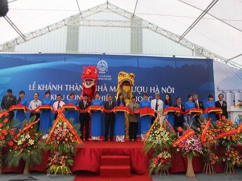 Khanh thanh Nha may Ruou Ha Noi tai Bac Ninh