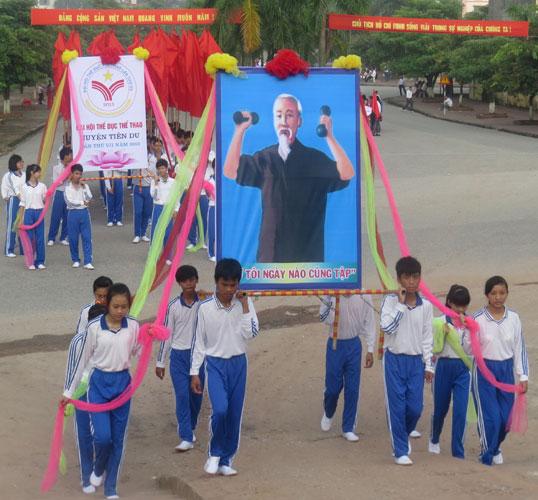 Dai hoi TDTT huyen Tien Du lan thu VII