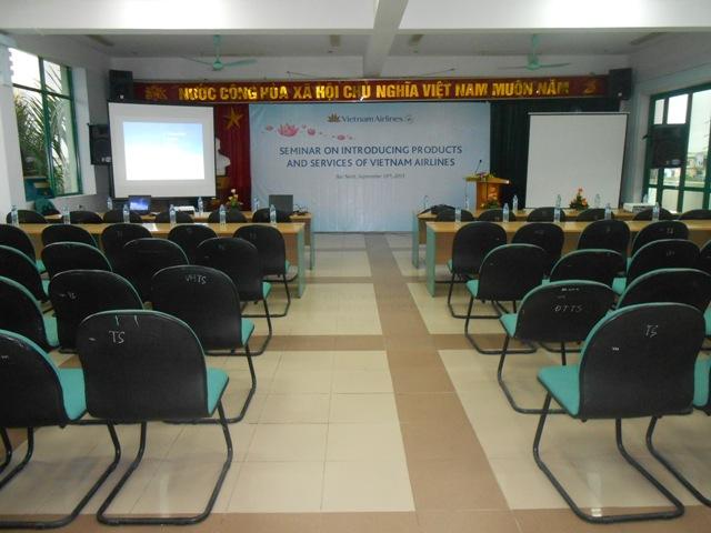 Chuong trinh Gioi thieu san pham va dich vu Vietnam Airlines tai Bac Ninh