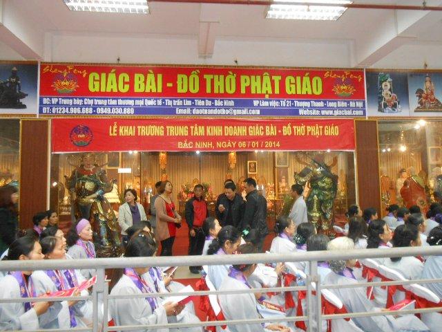 Le khai truong Trung tam kinh doanh Giac Bai – Do tho Phat giao