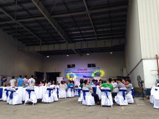Le so ket hoat dong 6 thang dau nam va truyen thong nhan vien thang 7-2016 Cong ty TNHH Suntory Pepsico Viet Nam Chi nhanh Bac Ninh