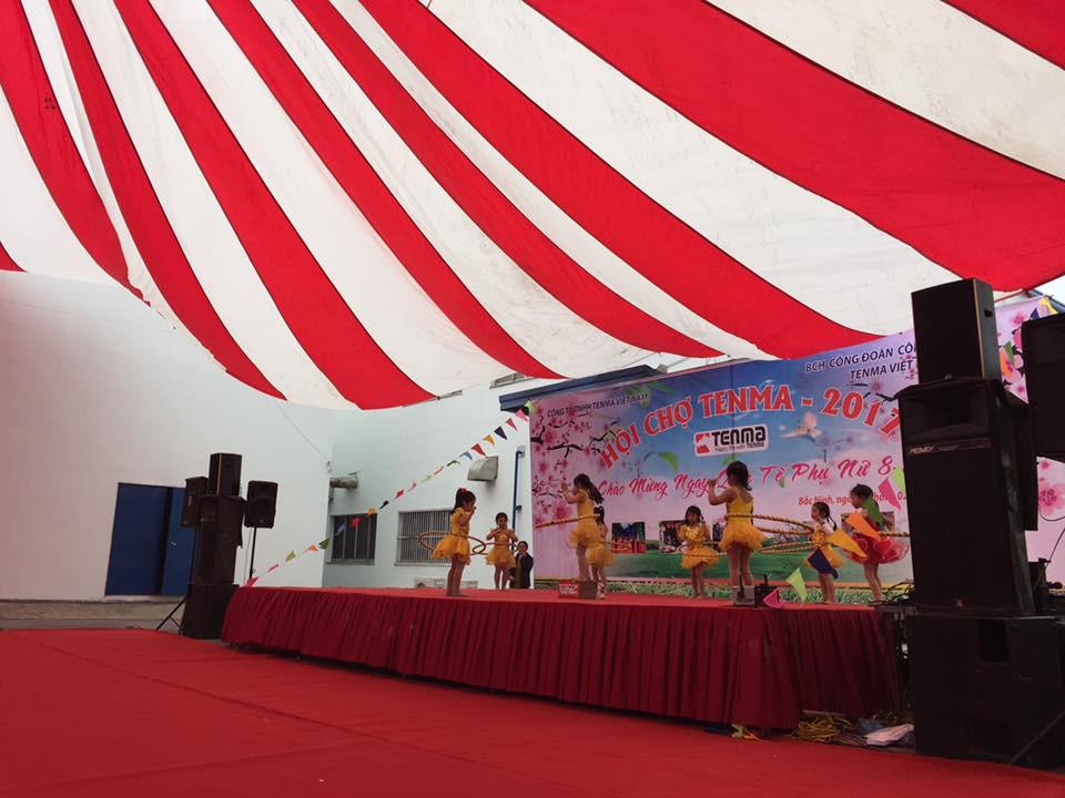 Hoi cho TENMA 2017 - Chao mung ngay quoc te phu nu 08-03