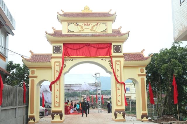 Le khanh thanh Cong lang thon Dong Tien - xa Dong Phu - huyen Luc Nam - tinh Bac Giang
