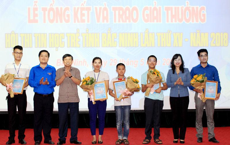 Hoi thi Tin hoc tre tinh Bac Ninh lan thu XV