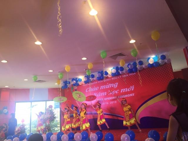 Le Chao Mung nam hoc moi Truong Mam non Song ngu Ly Van Hoa