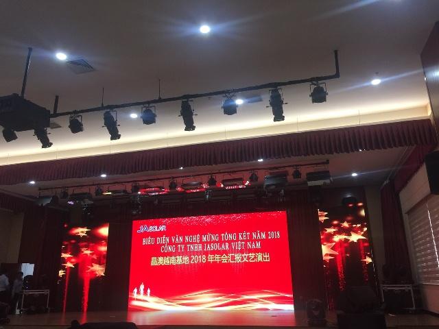 Le tong ket Cong ty JASOLAR 2018