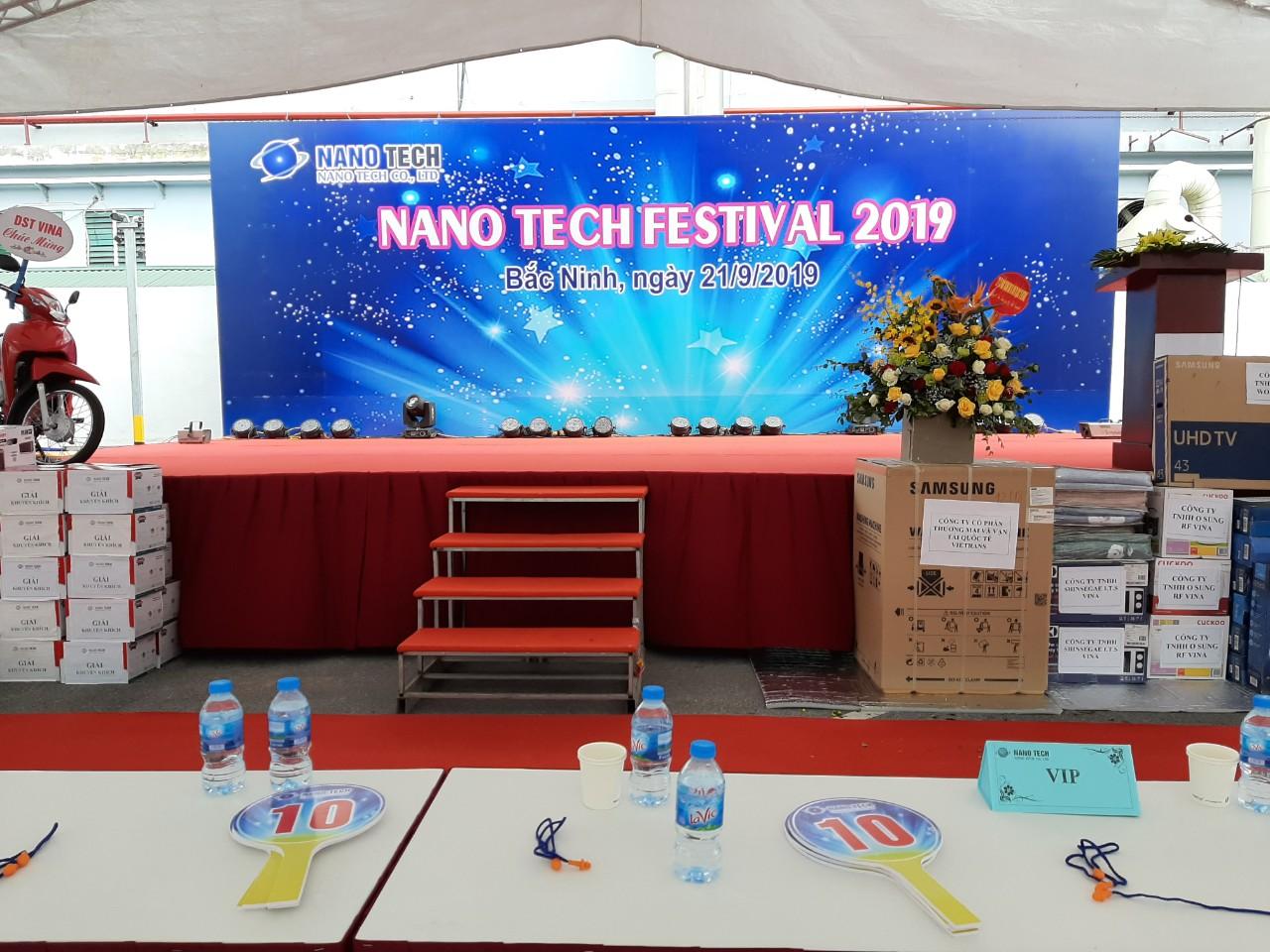 Ngay Hoi Nano Tech Festival 2019
